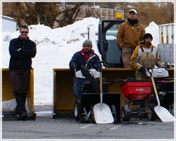 snow removal service in nc